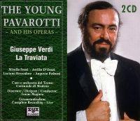 Cover The Young Pavarotti - Giuseppe Verdi: La Traviata [2CD]